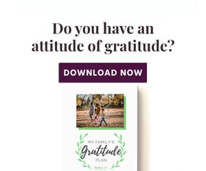 Do you have an attitude of gratitude?