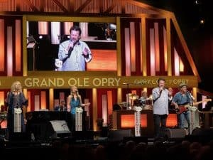 Russ Taff at the Grand Ole Opry in 2018